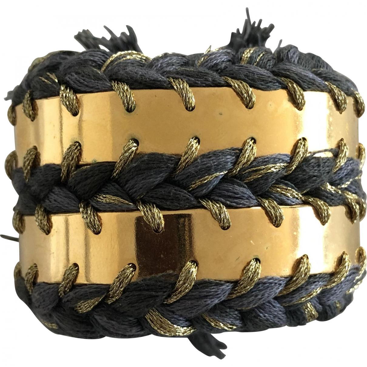 Aurelie Bidermann - Bracelet Do Brasil pour femme en metal - dore