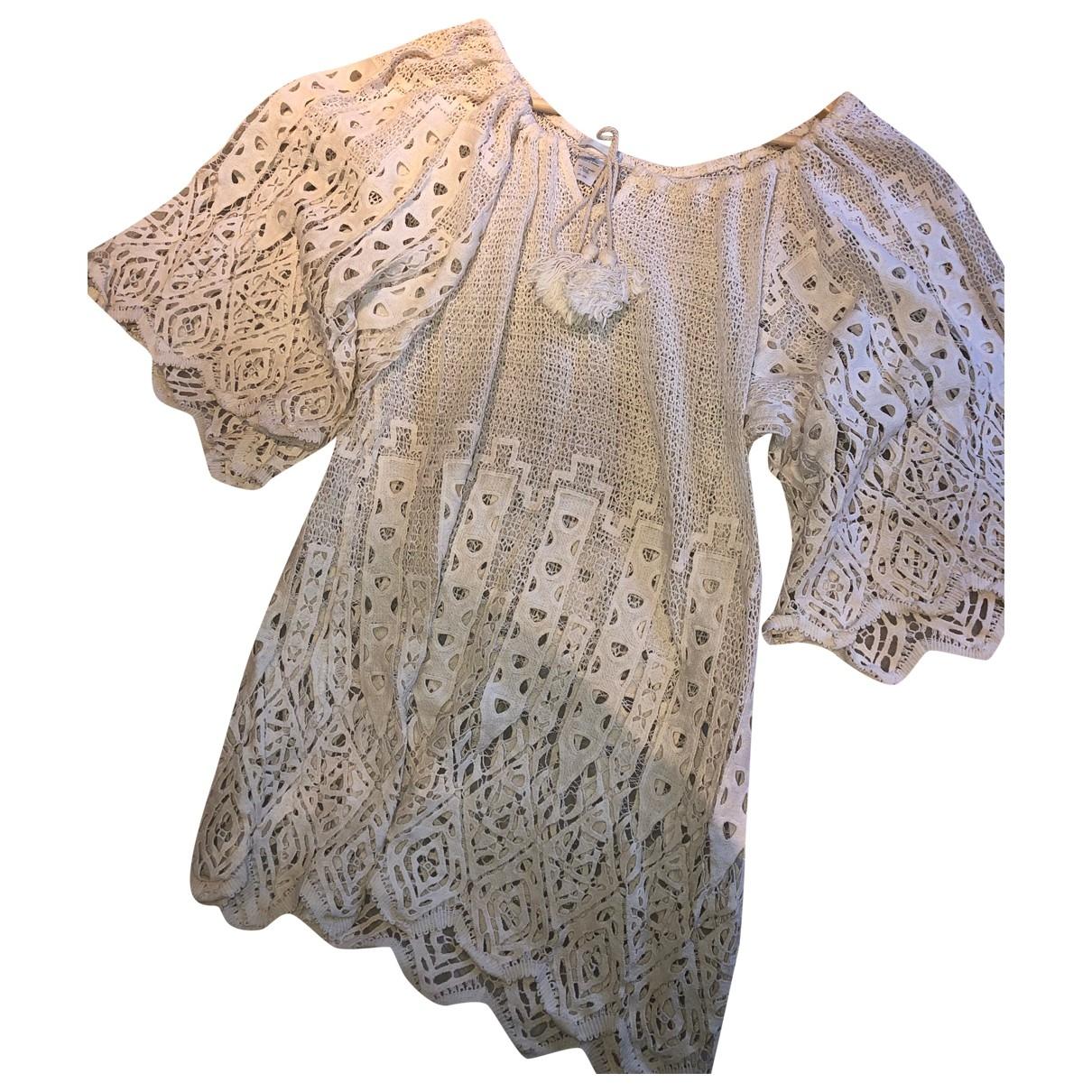 Mini vestido de Encaje Eberjey