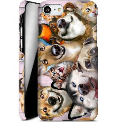 Apple iPhone 7 Smartphone Huelle - Pet Selfie von Howard Robinson