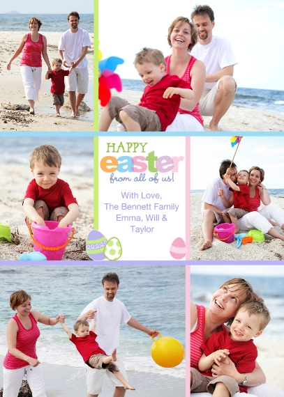 Easter Cards Mail-for-Me Premium 5x7 Folded Card , Card & Stationery -Easter Egg Memories