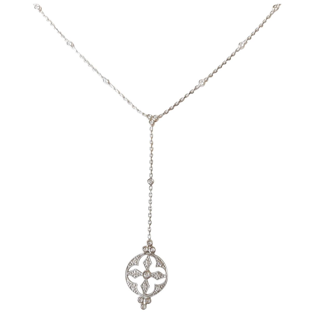 Stone Paris - Collier   pour femme en or blanc - blanc