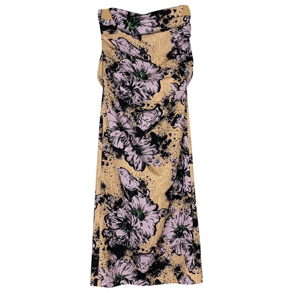 Miu Miu - Jupe   pour femme en soie - multicolore