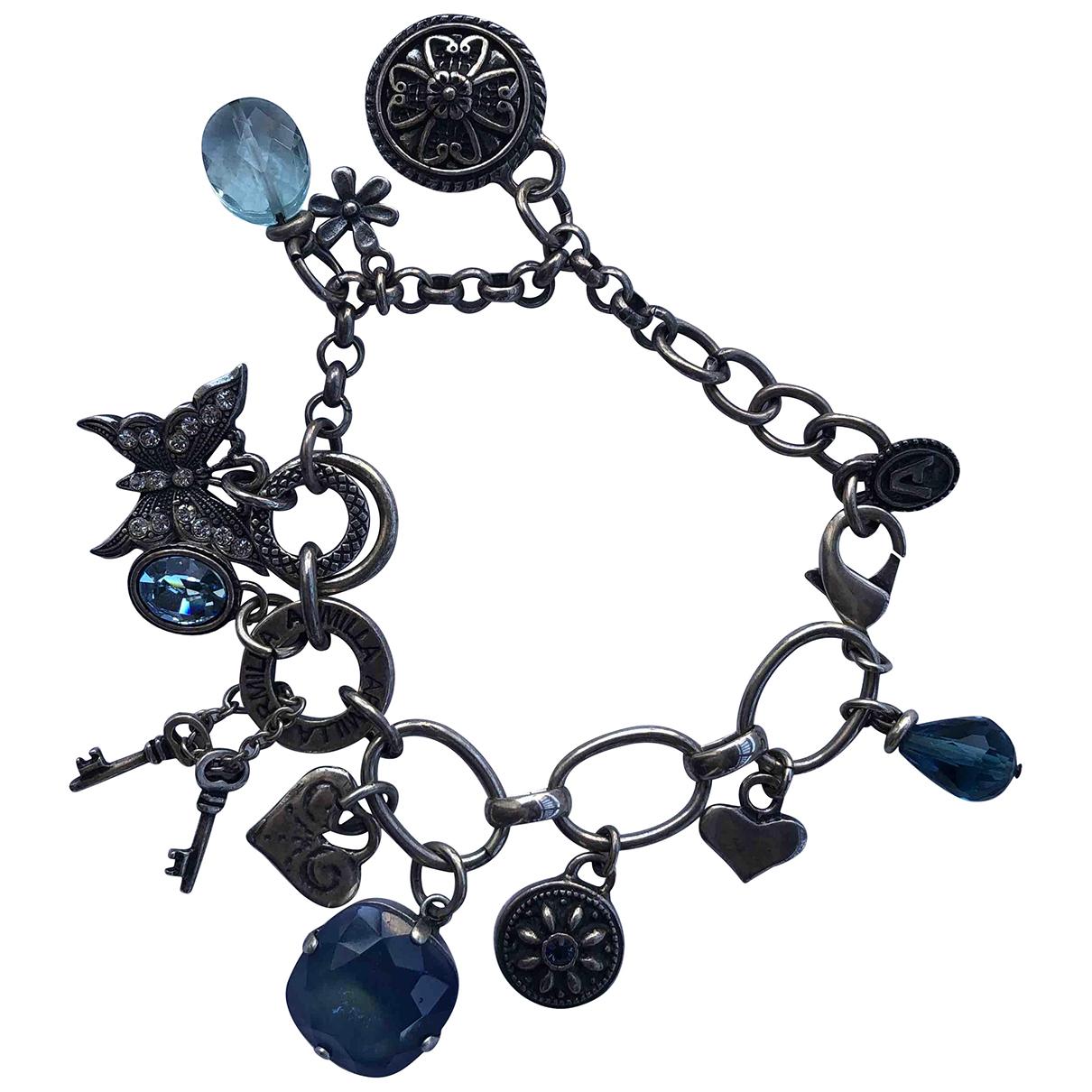 - Bracelet Motifs Ethniques pour femme en argent - argente