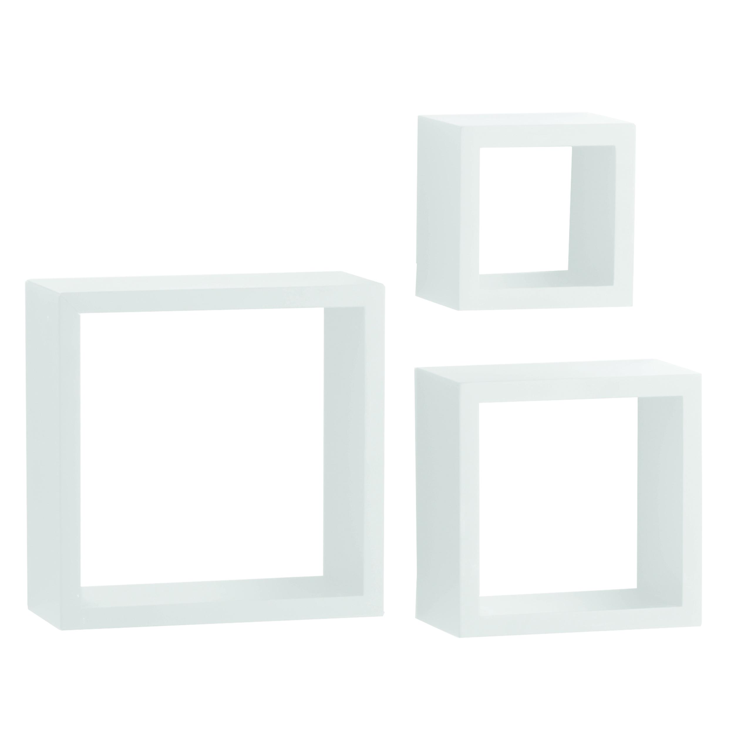 Knape & Vogt 3-Piece Shadow Box Set, 4