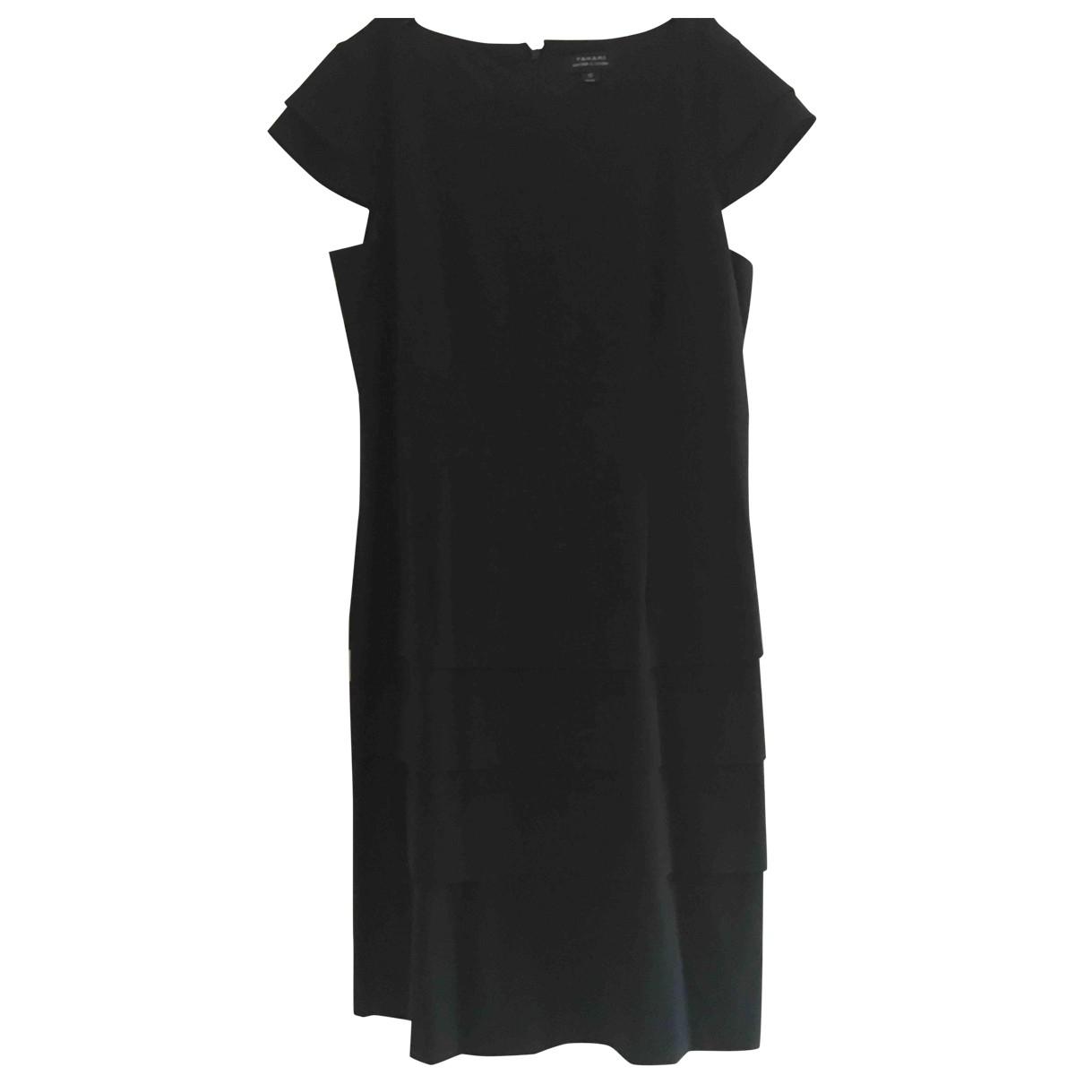 Elie Tahari \N Kleid in  Schwarz Synthetik
