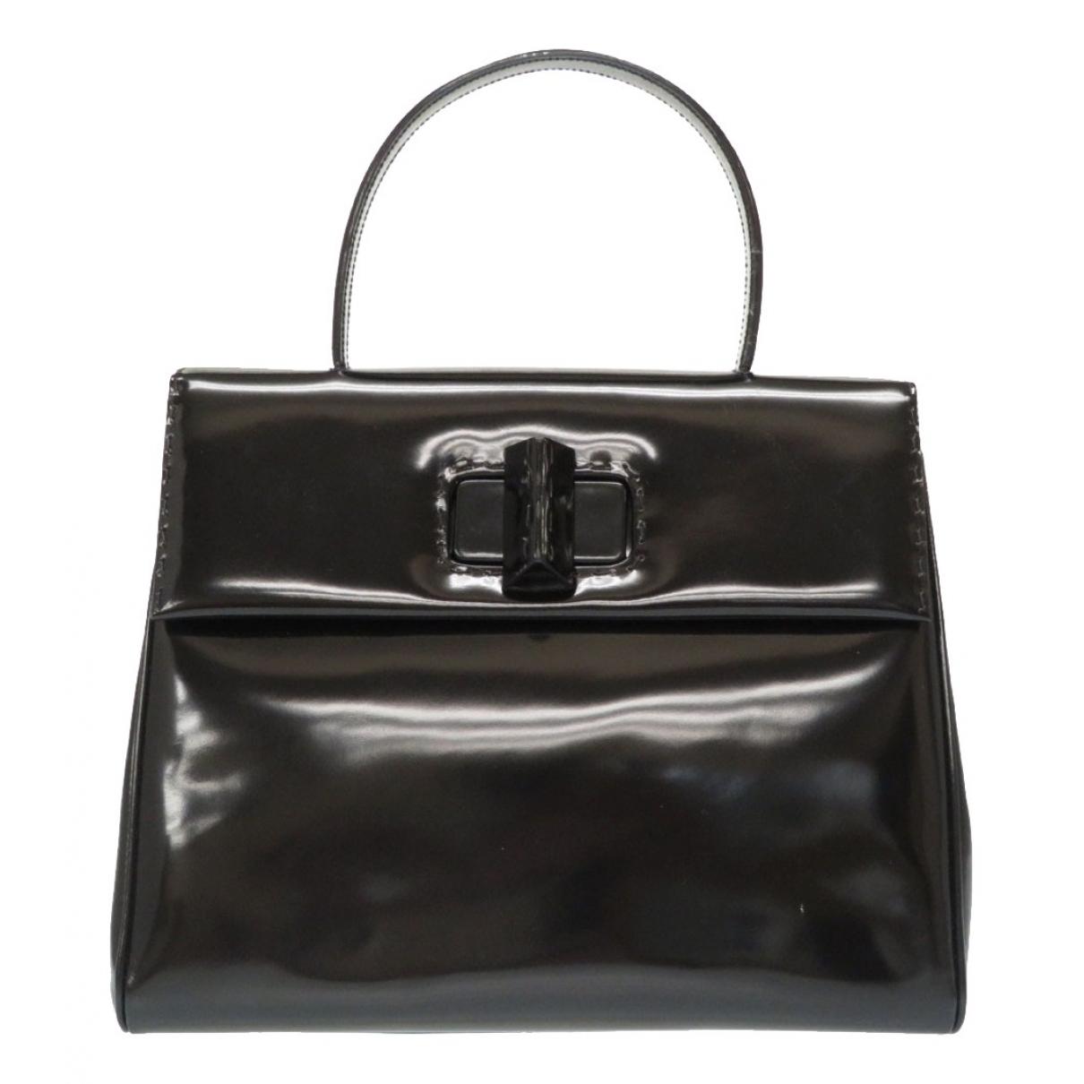 Prada \N Black Patent leather handbag for Women \N