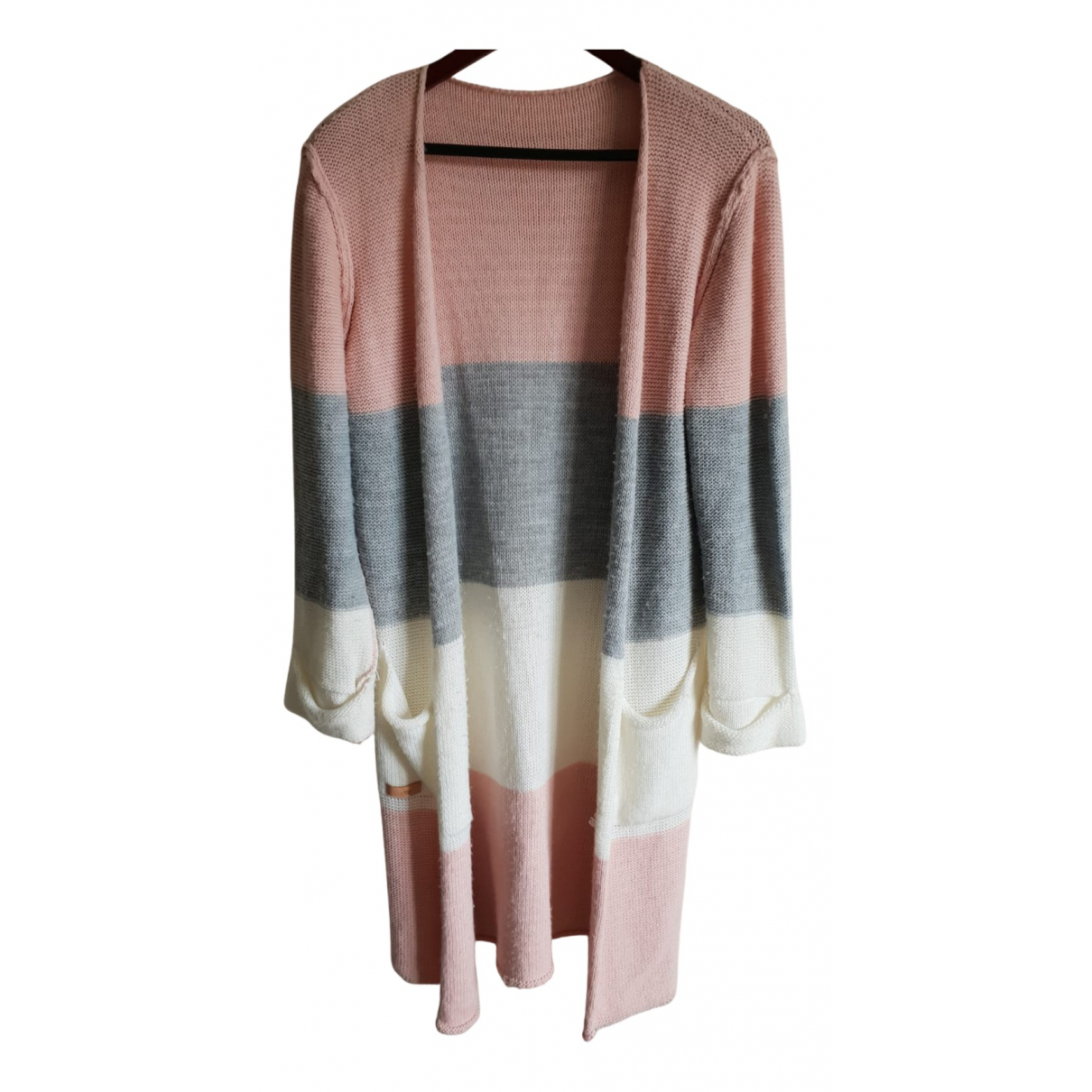 Non Signé / Unsigned N Multicolour Knitwear for Women 36 FR