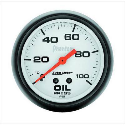 Auto Meter Phantom Mechanical Oil Pressure Gauge - 5821
