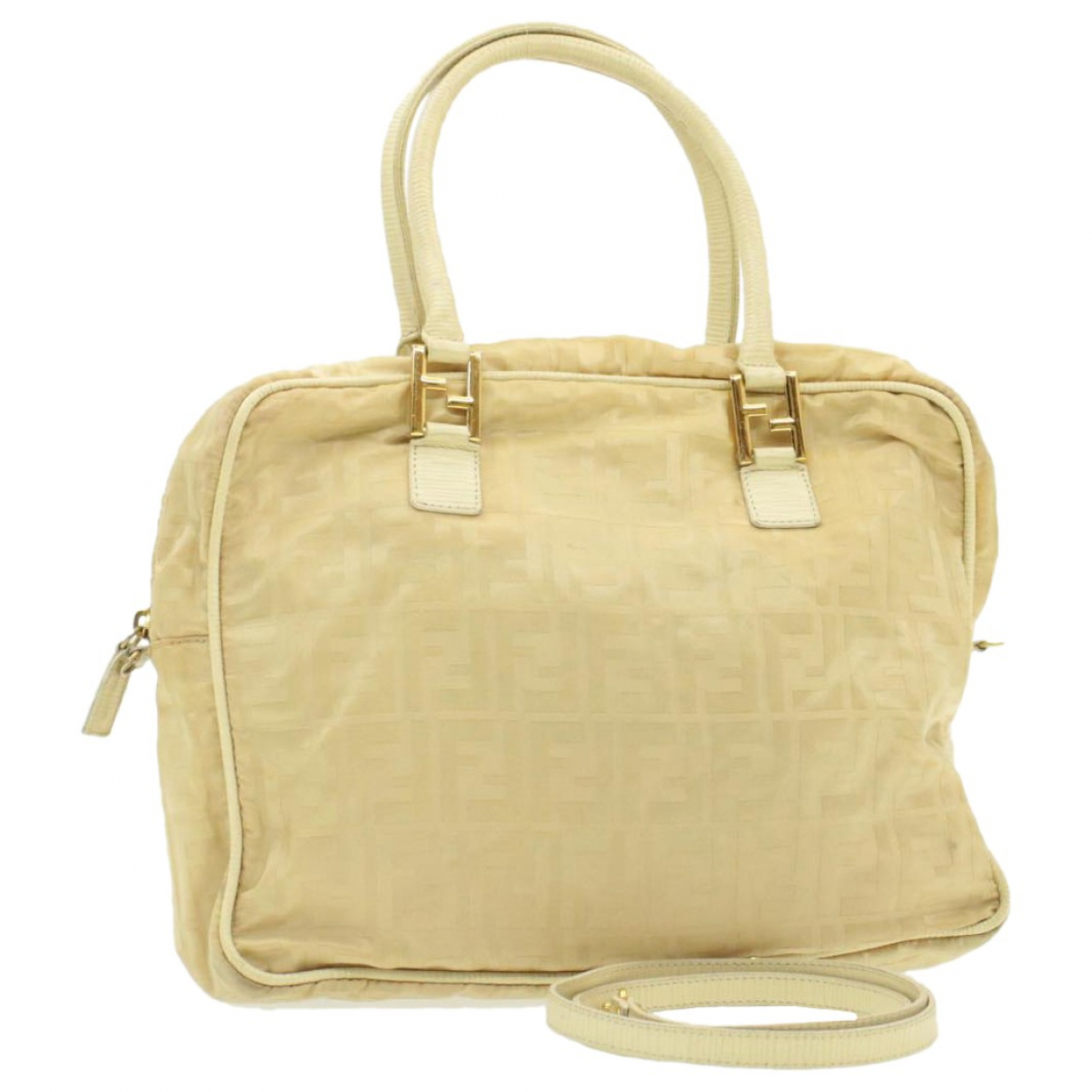 Fendi \N Beige Cloth handbag for Women \N