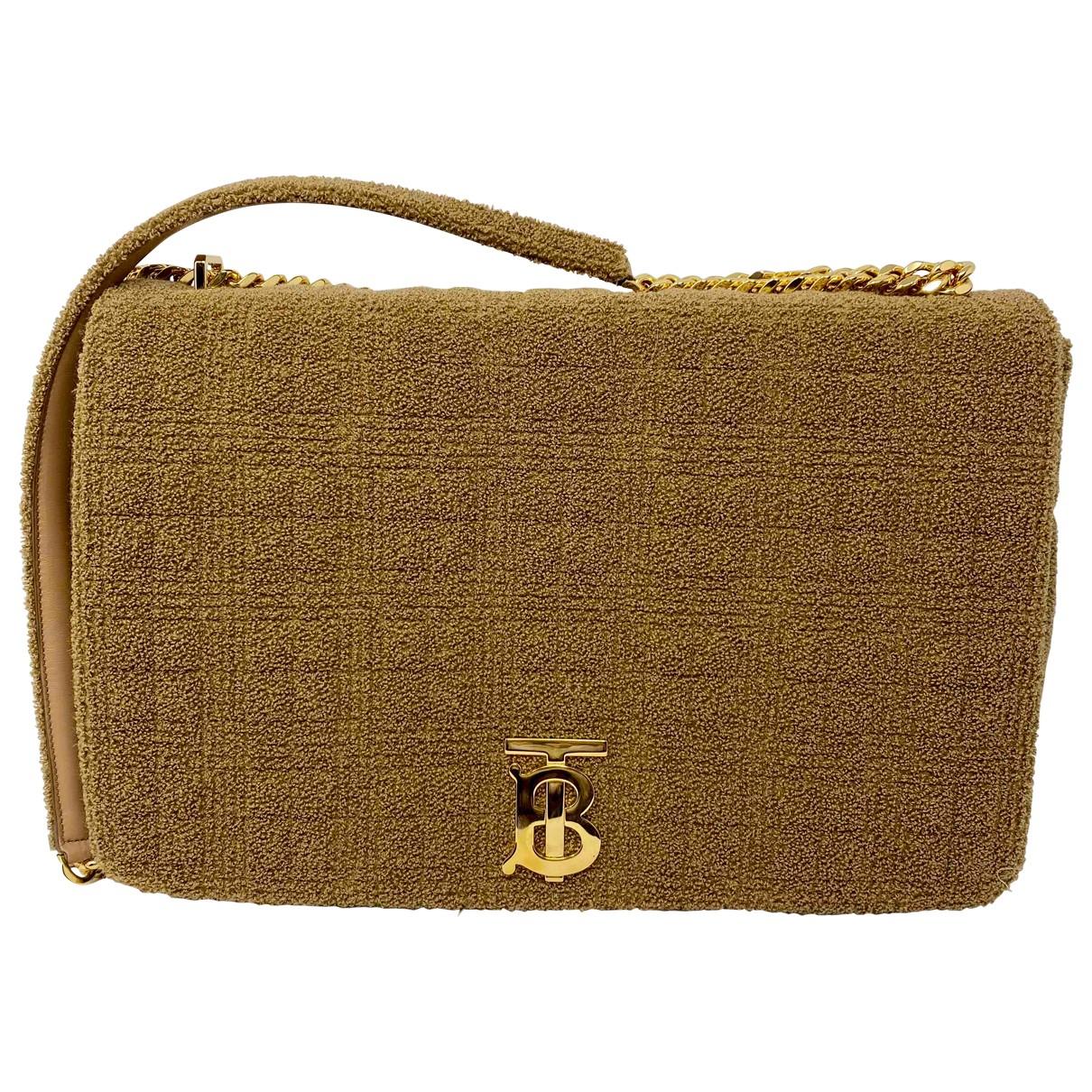 Burberry Lola Beige Cotton handbag for Women \N