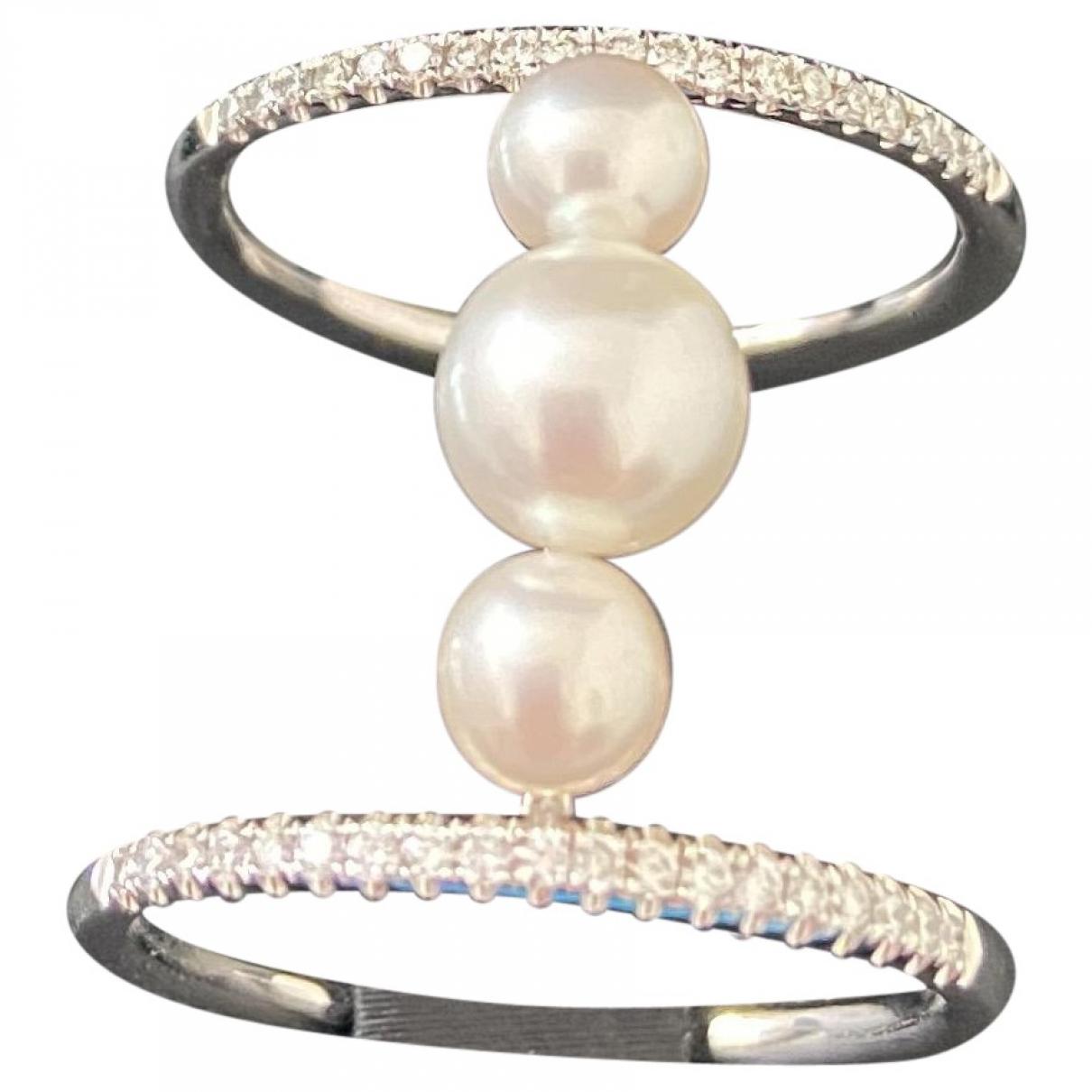 Djula - Bague   pour femme en or blanc