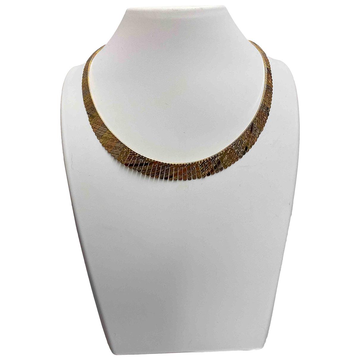 - Collier   pour femme en or jaune - jaune