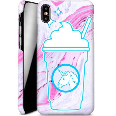 Apple iPhone XS Max Smartphone Huelle - Unicorn Frappuccino von caseable Designs