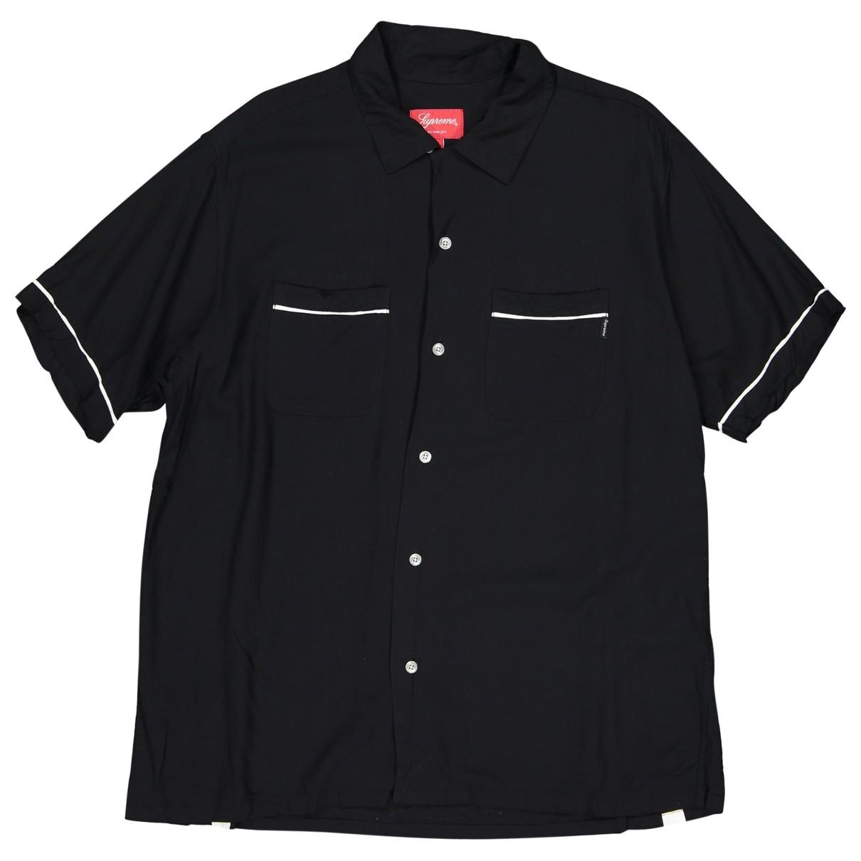 Supreme - Tee shirts   pour homme - noir