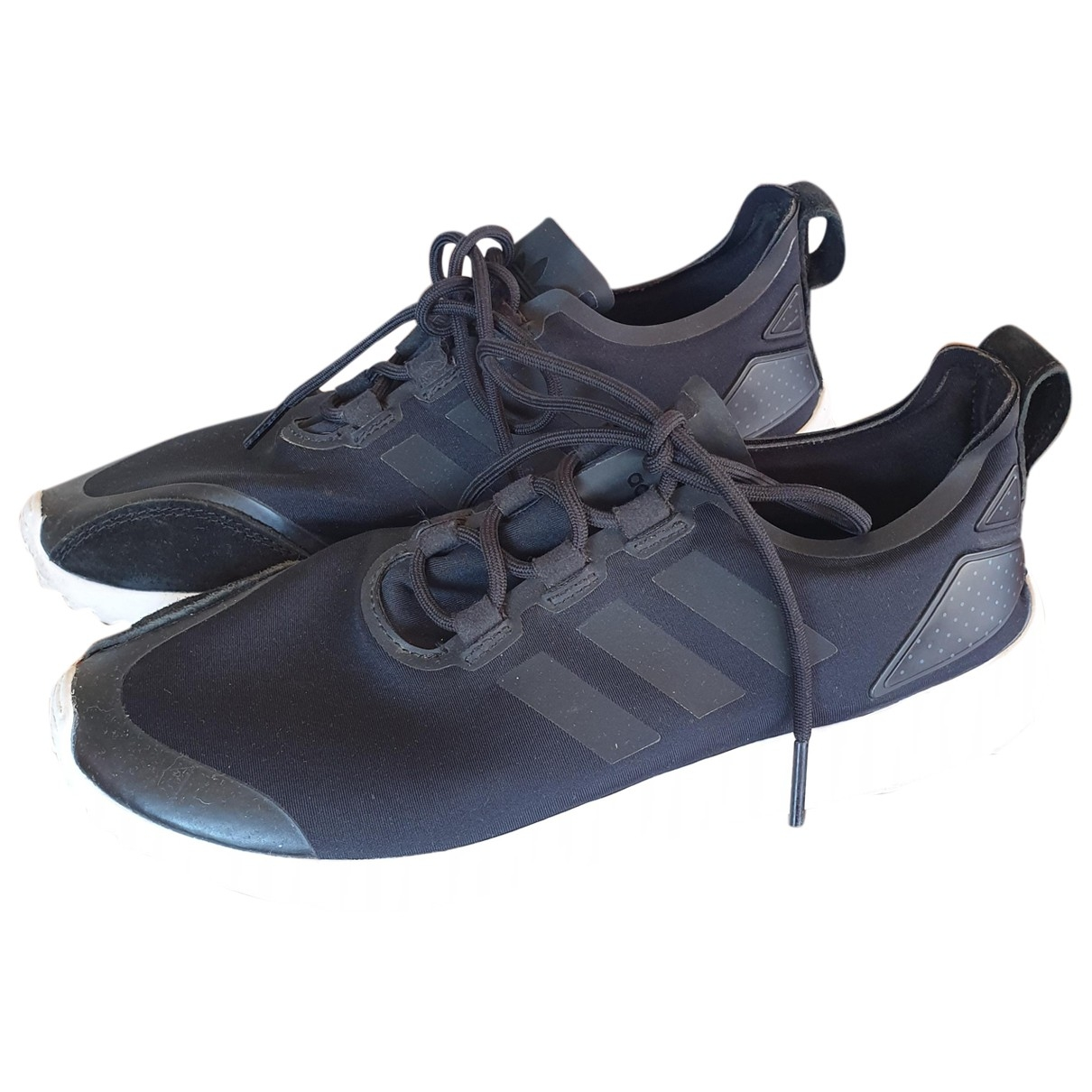 Adidas ZX Sneakers in  Schwarz Leinen