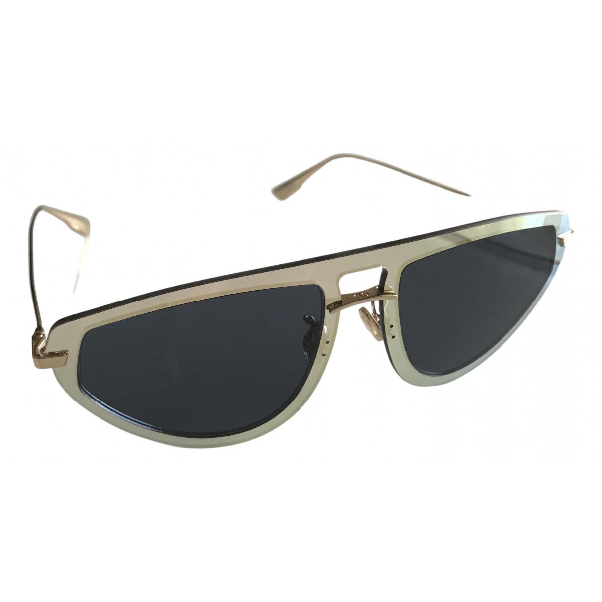 Dior \N Sonnenbrillen in  Gold Kunststoff