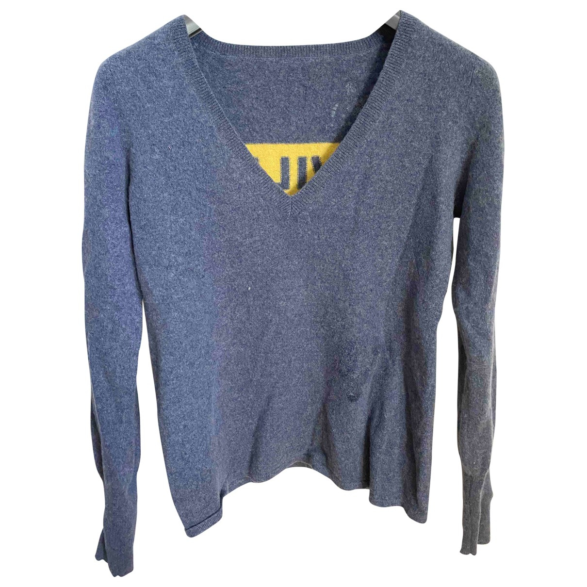 Zadig & Voltaire \N Blue Cashmere Knitwear for Women 36 FR