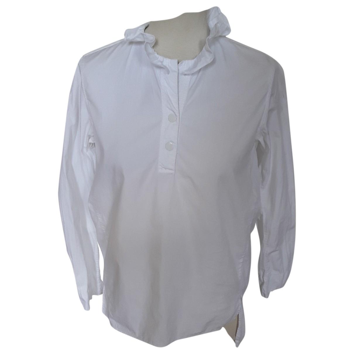 Sandro \N White Cotton  top for Women 38 FR