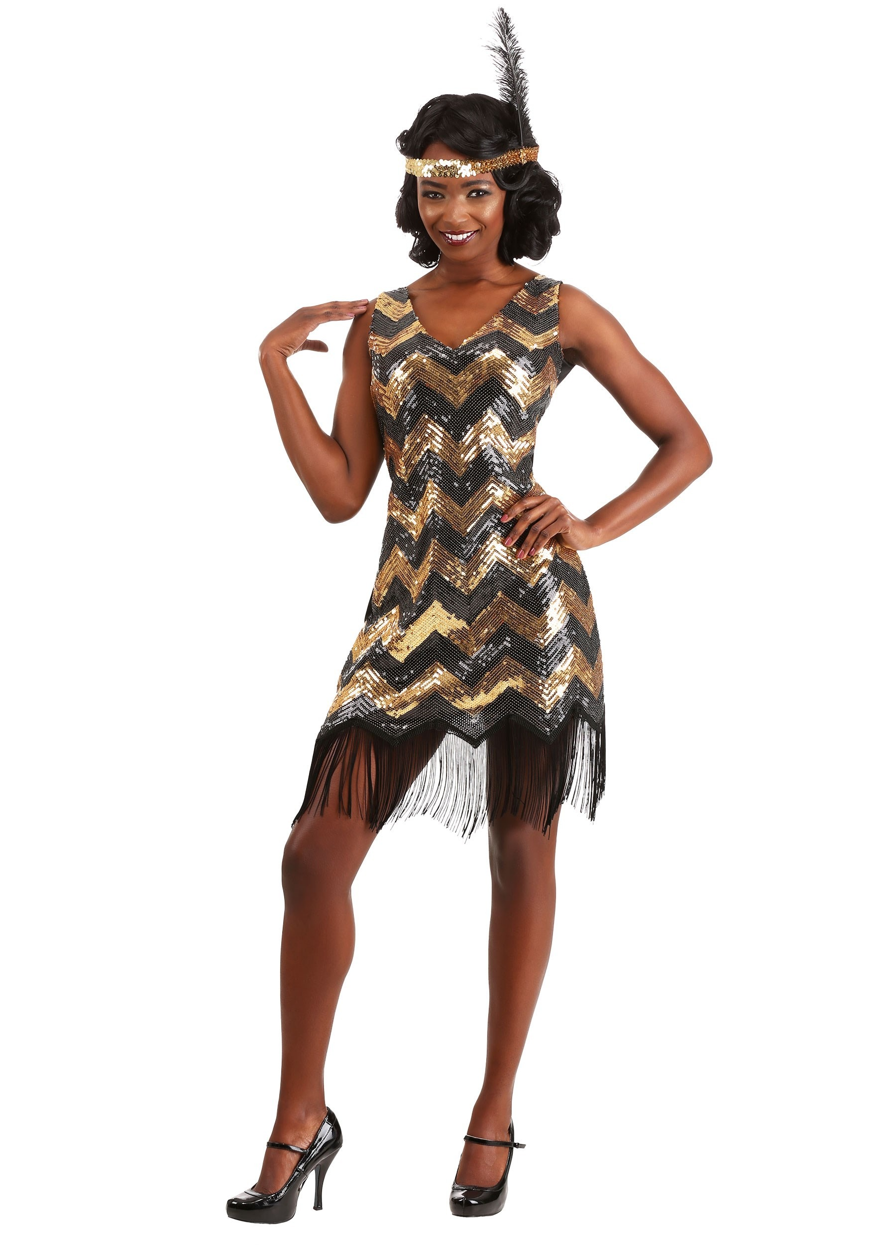 Dolled Up Women's Flapper Costume