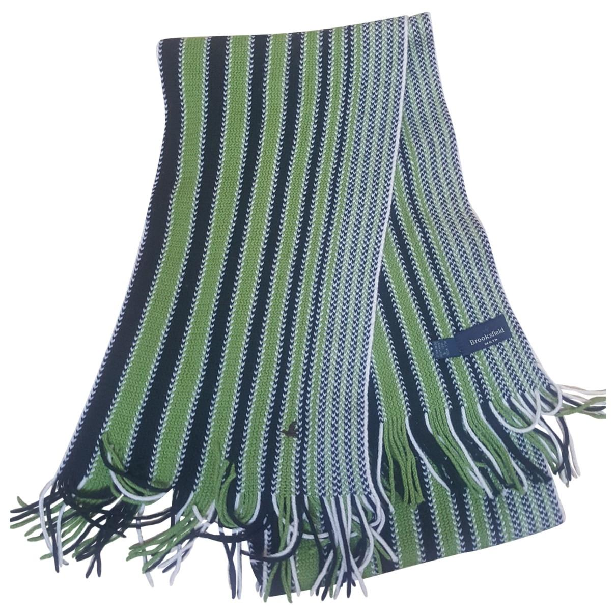 Brooksfield \N Tuecher, Schal in  Gruen Wolle