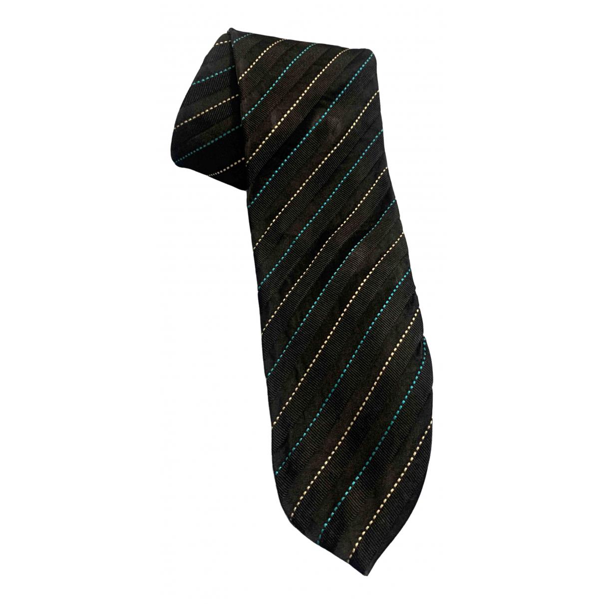 Dolce & Gabbana \N Krawatten in  Schwarz Seide