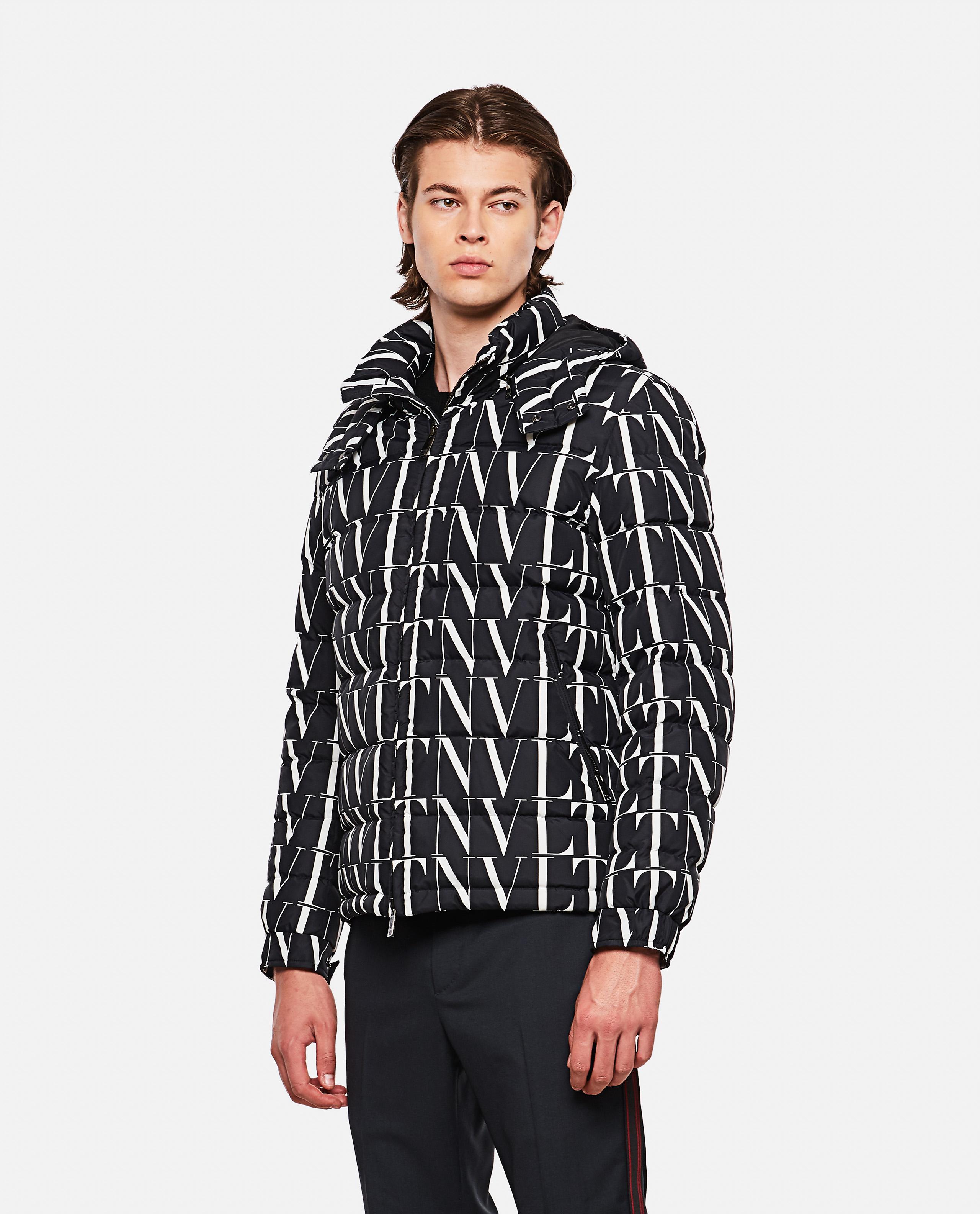 VLTN jacket with print