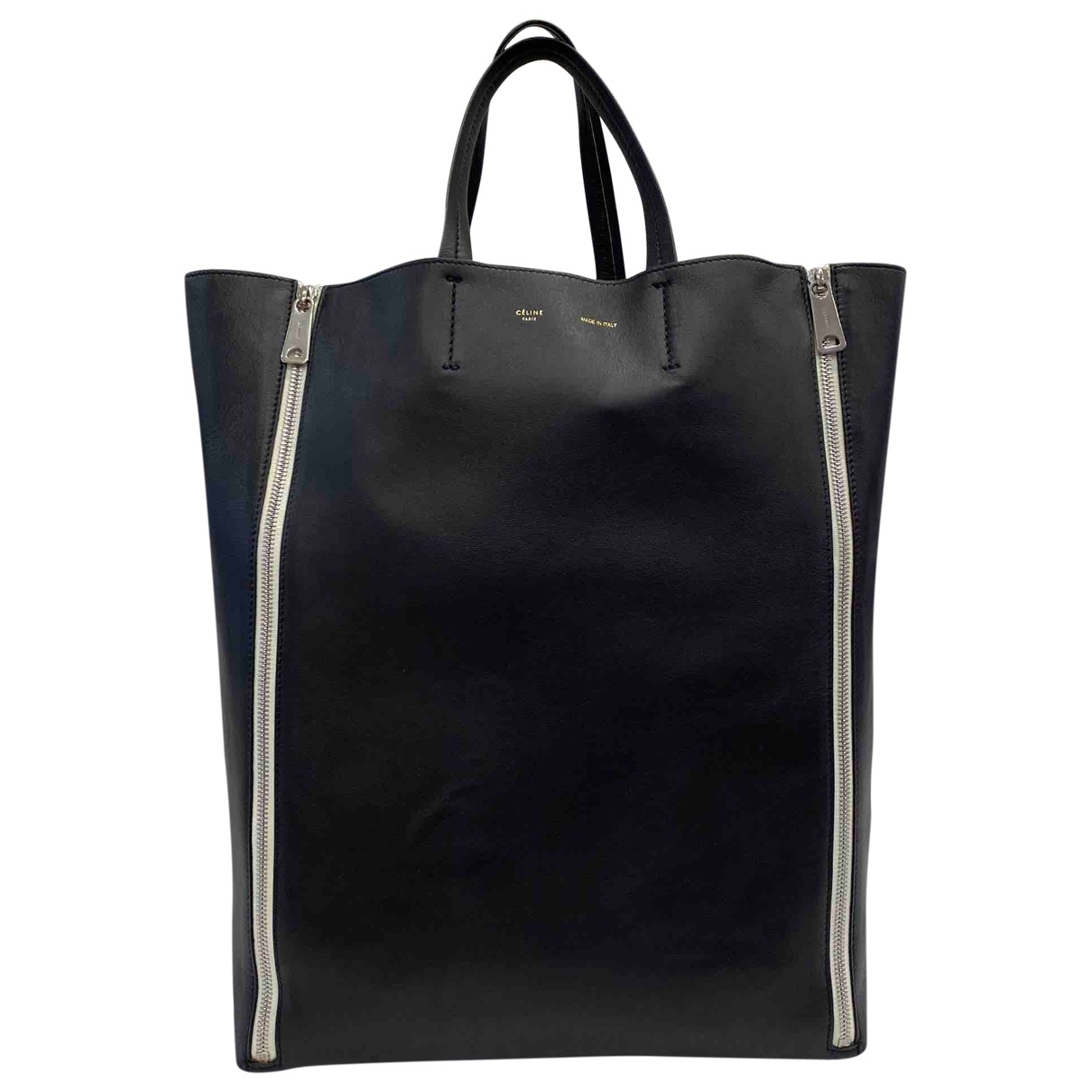 Celine \N Black Leather handbag for Women \N