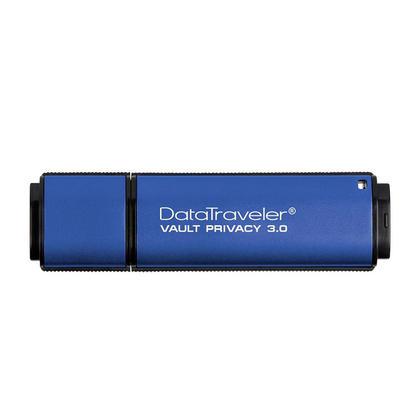 Kingston® DataTraveler Vault Privacy Encrypted 256Bit USB 3.0 Flash Drive - 16GB