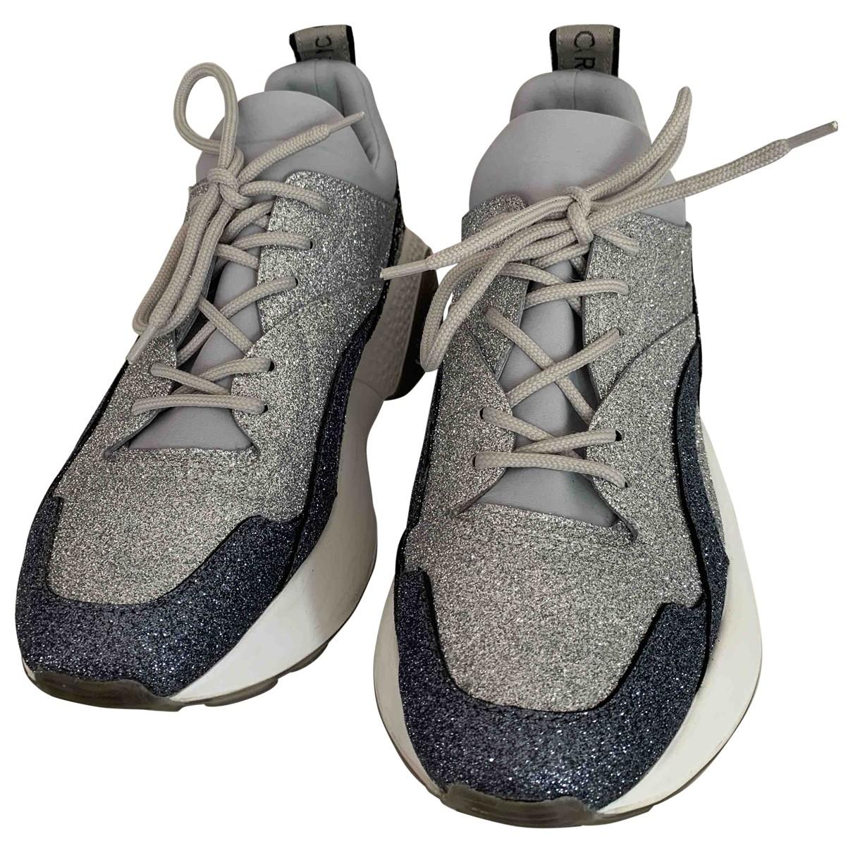 Stella Mccartney - Baskets Eclypse pour femme en a paillettes - gris