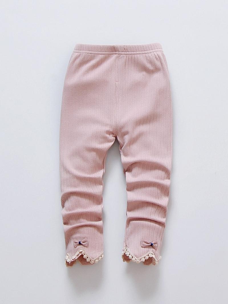 Ericdress Lovely Bowknot Tassel Girl's Legging