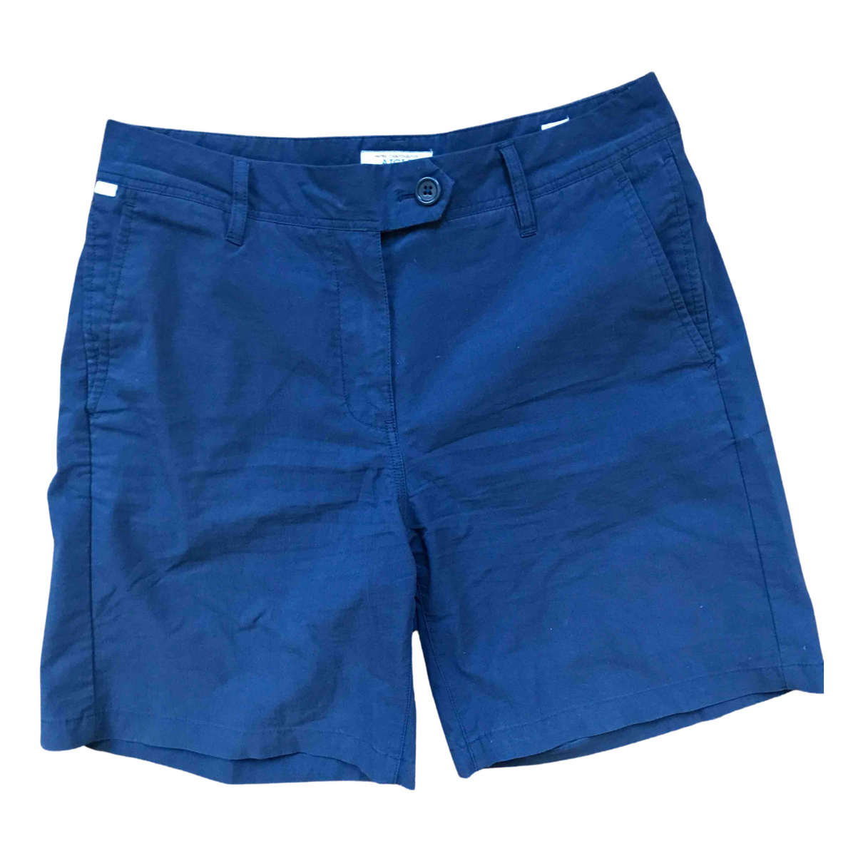 Aigle \N Shorts in  Marine Synthetik