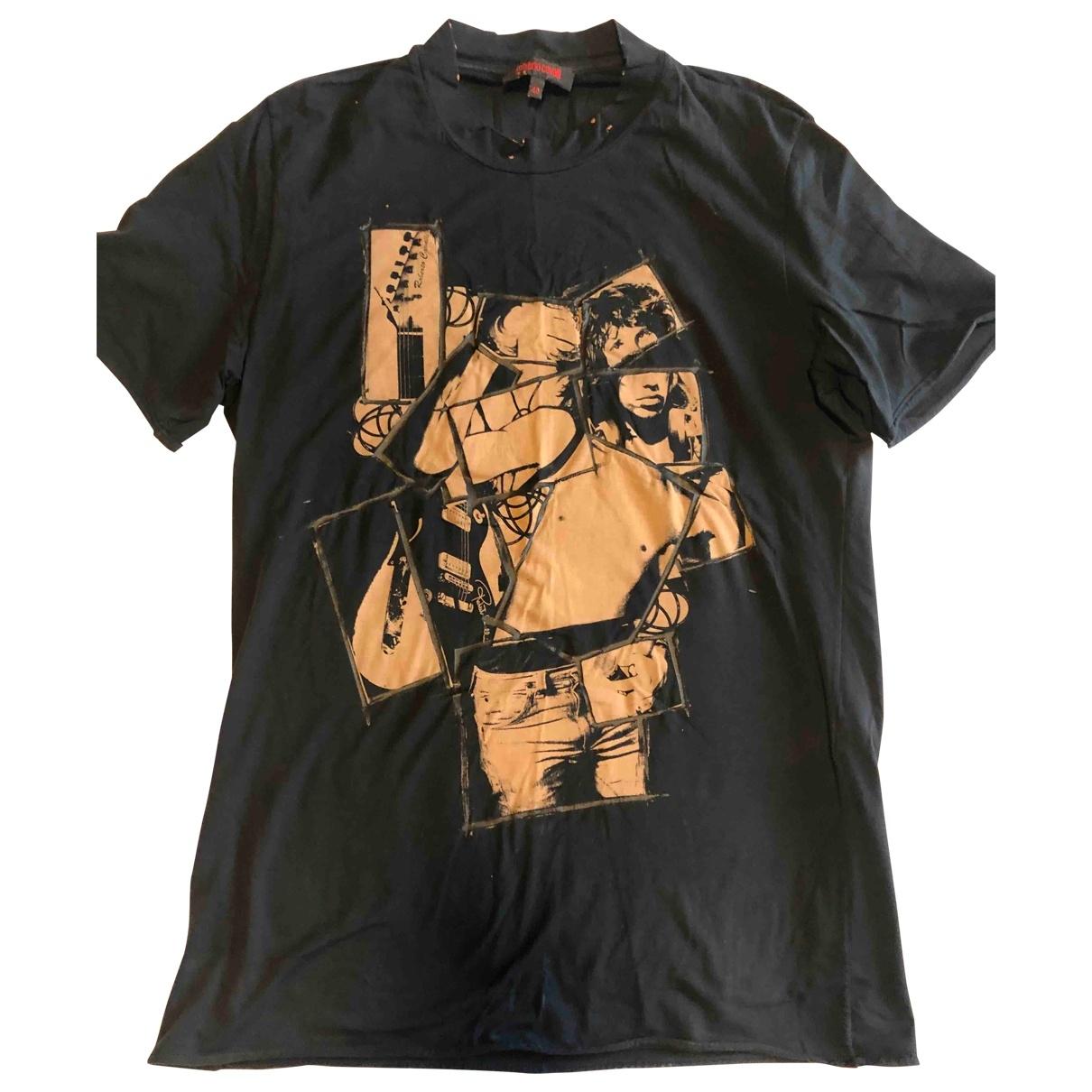 Roberto Cavalli - Tee shirts   pour homme en coton - marron