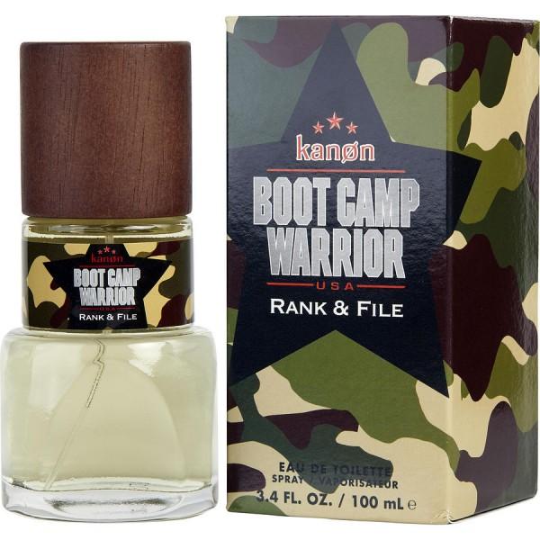 Boot Camp Warrior Rank & File - Kanon Eau de Toilette Spray 100 ml