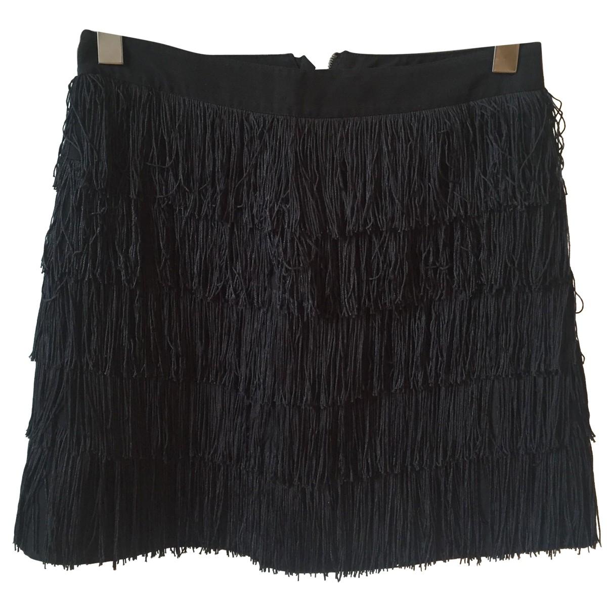 See By Chloé \N Black Cotton skirt for Women 36 FR