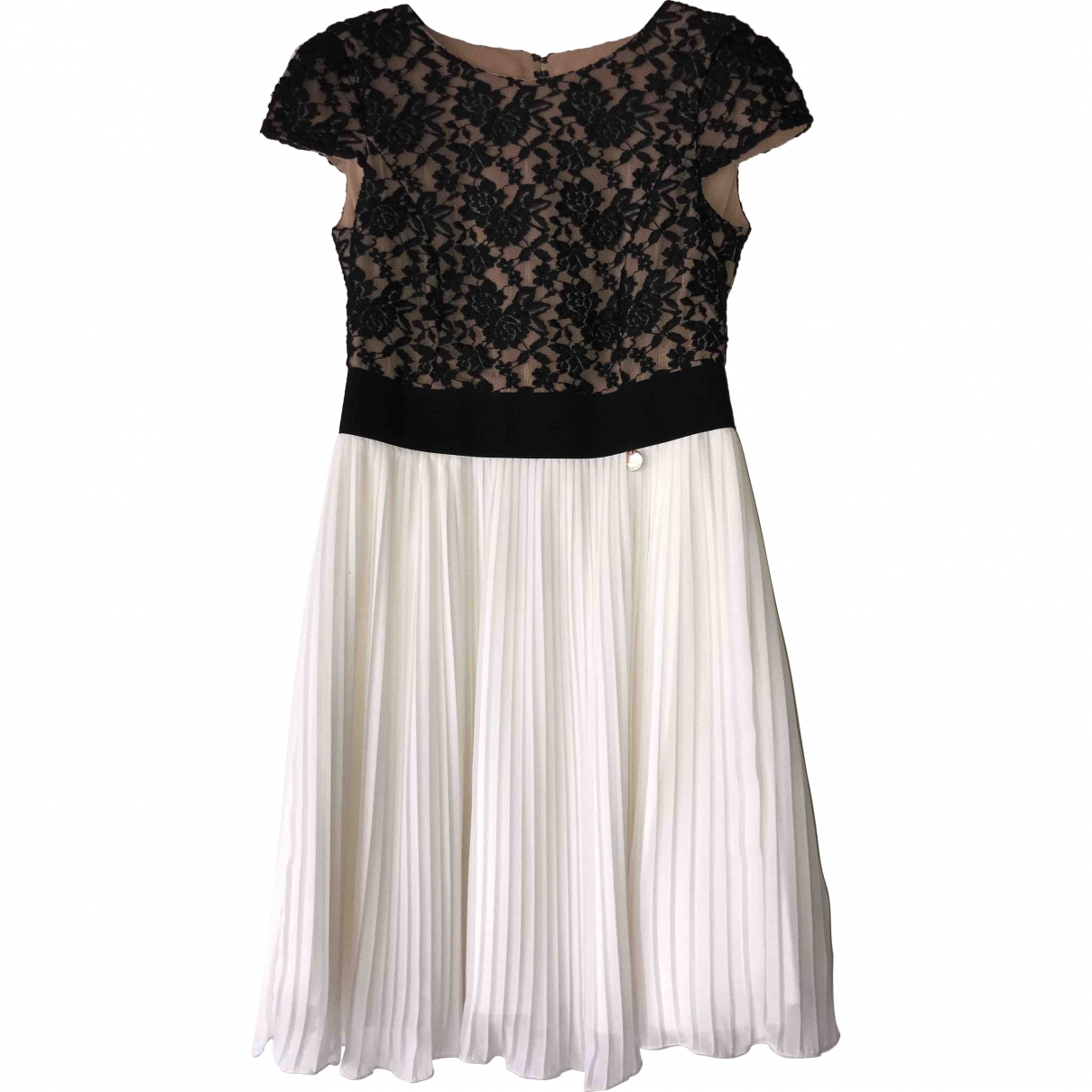 Mangano \N Kleid in  Schwarz Spitze