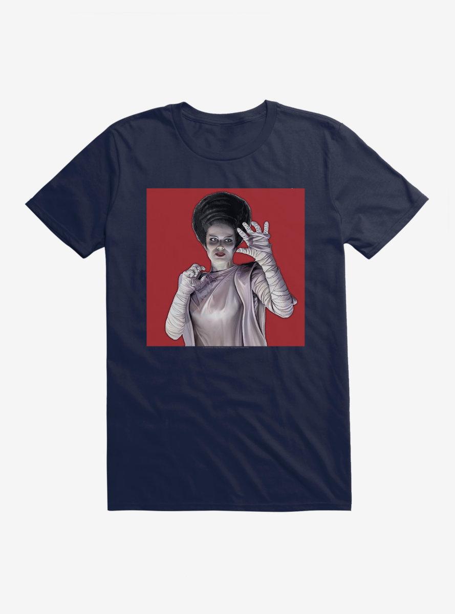 Universal Monsters Bride Of Frankenstein Hands T-Shirt