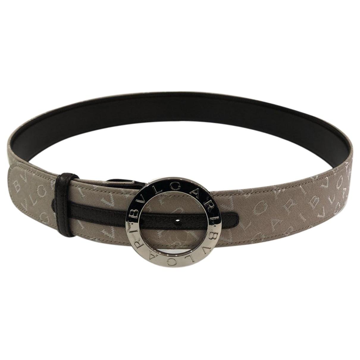 Cinturon de Lona Bvlgari