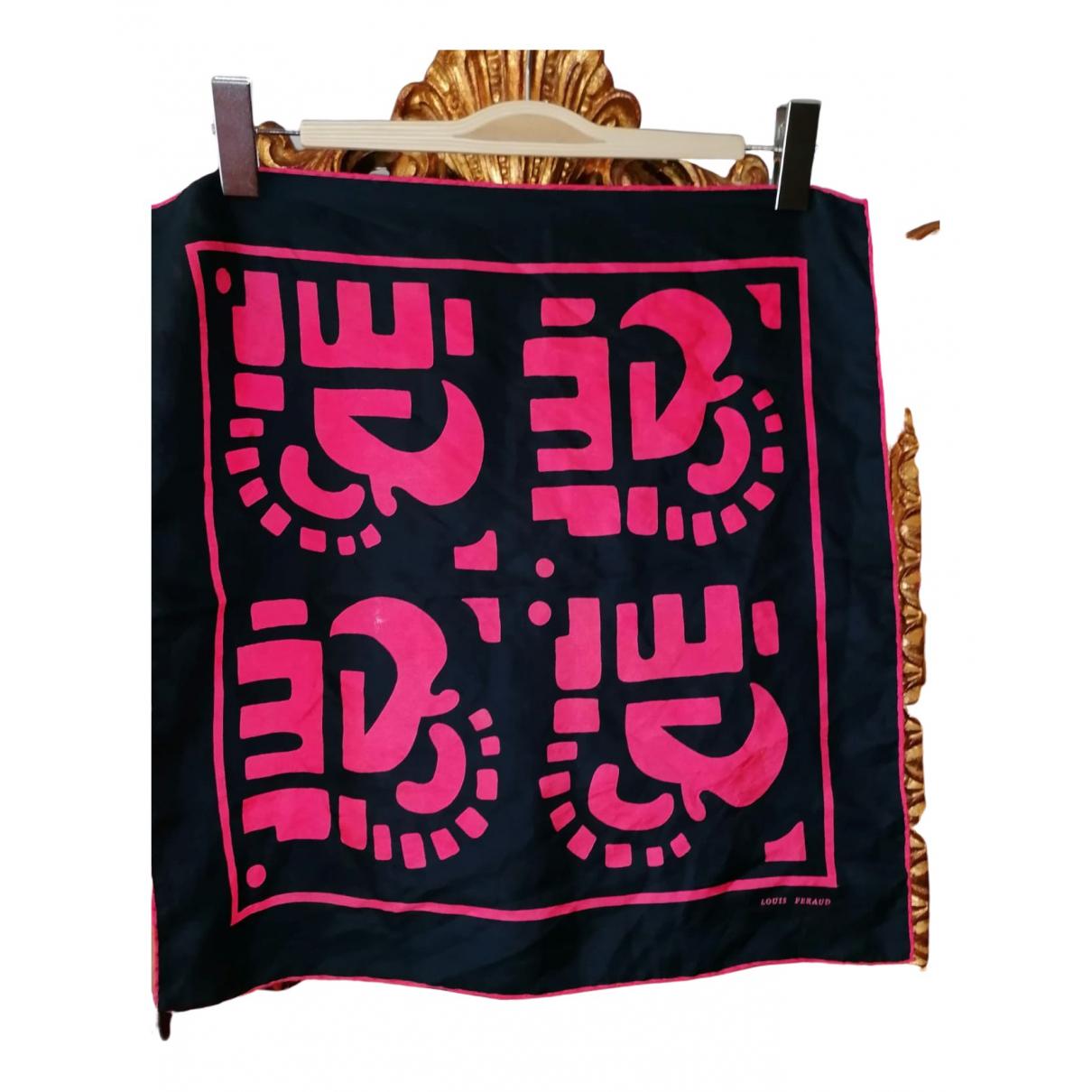 Louis Feraud N Navy Silk Silk handkerchief for Women N