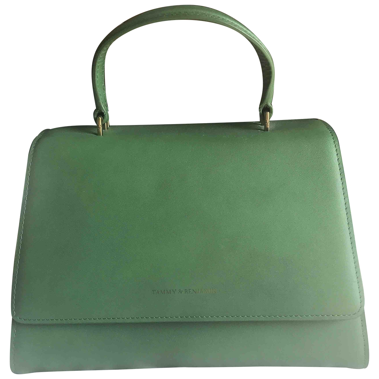 Tammy And Benjamin \N Green Leather handbag for Women \N