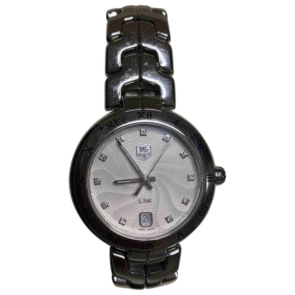 Tag Heuer Link Lady Uhr in  Silber Stahl