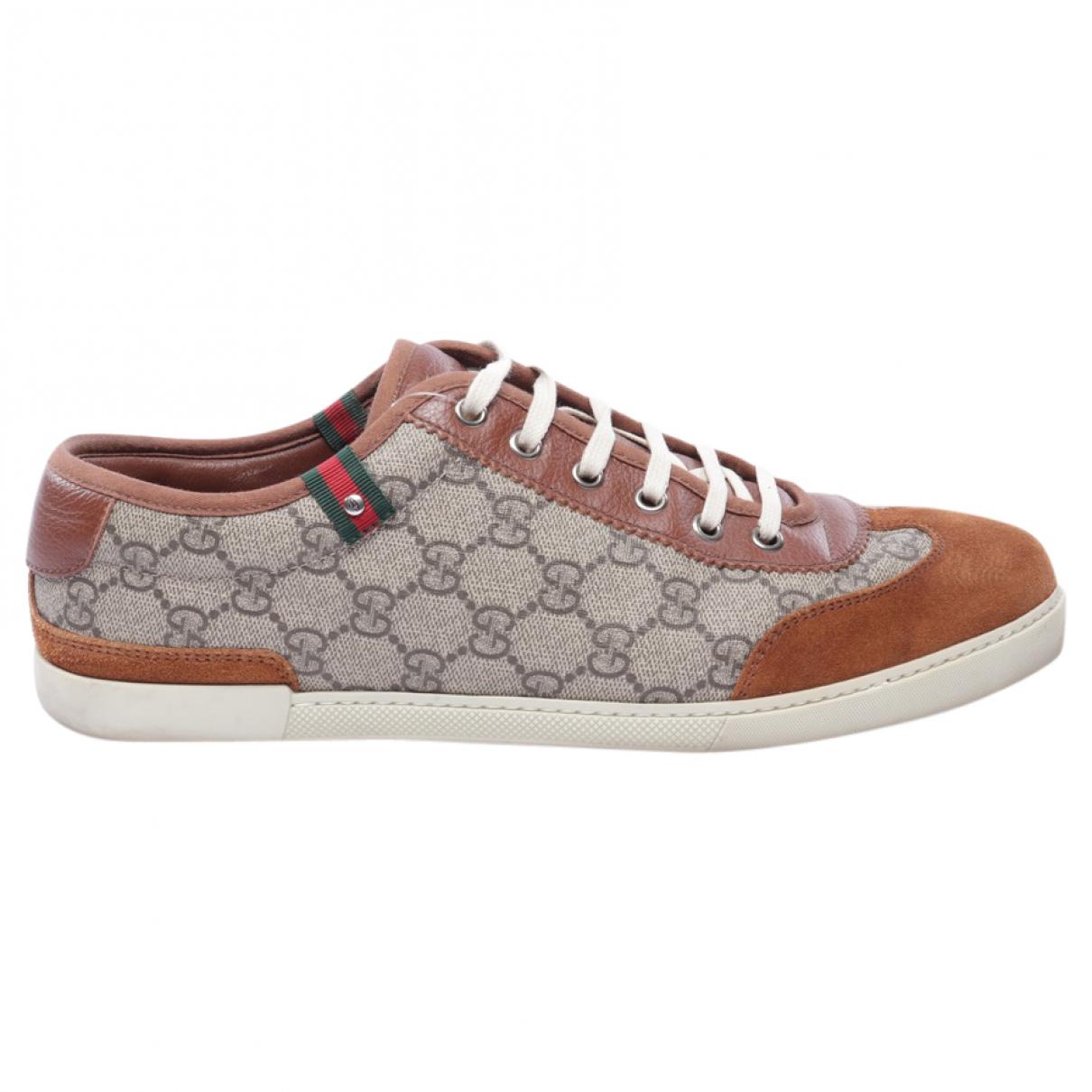 Gucci \N Multicolour Cloth Trainers for Women 43 EU