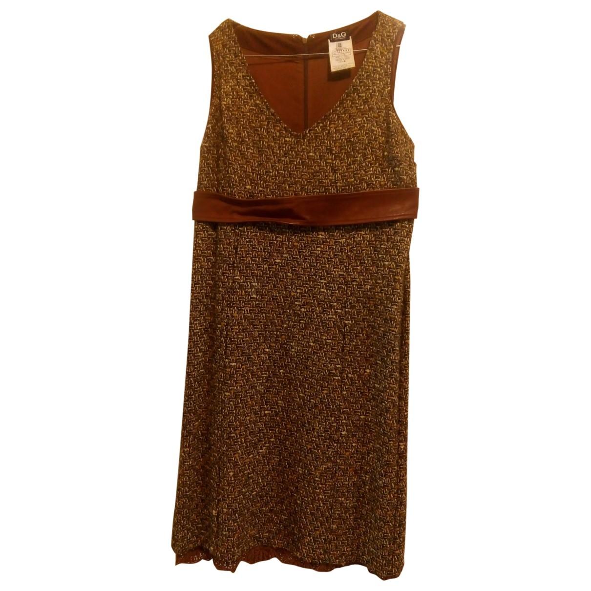 D&g \N Kleid in  Kamel Tweed