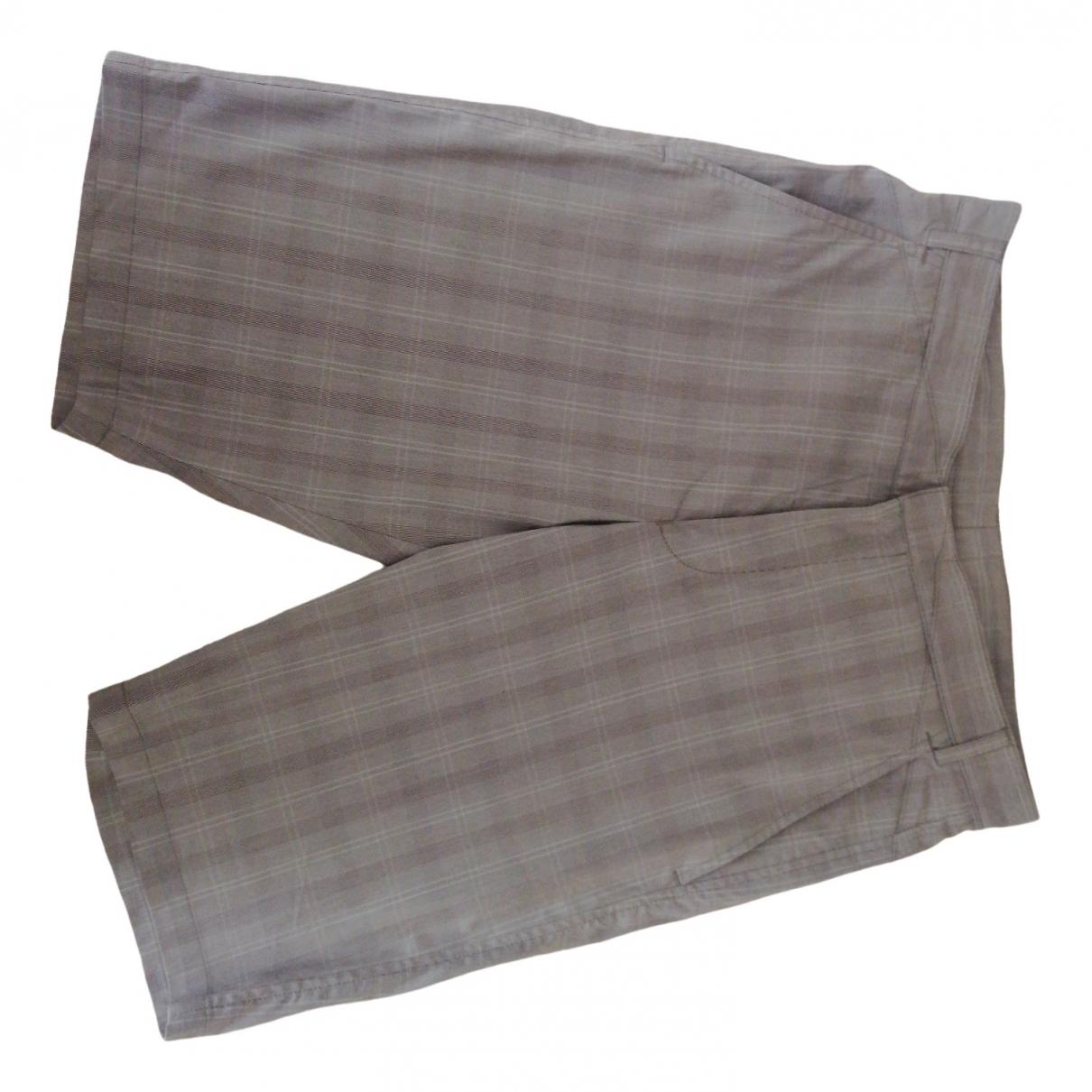 Hugo Boss \N Shorts in  Grau Baumwolle