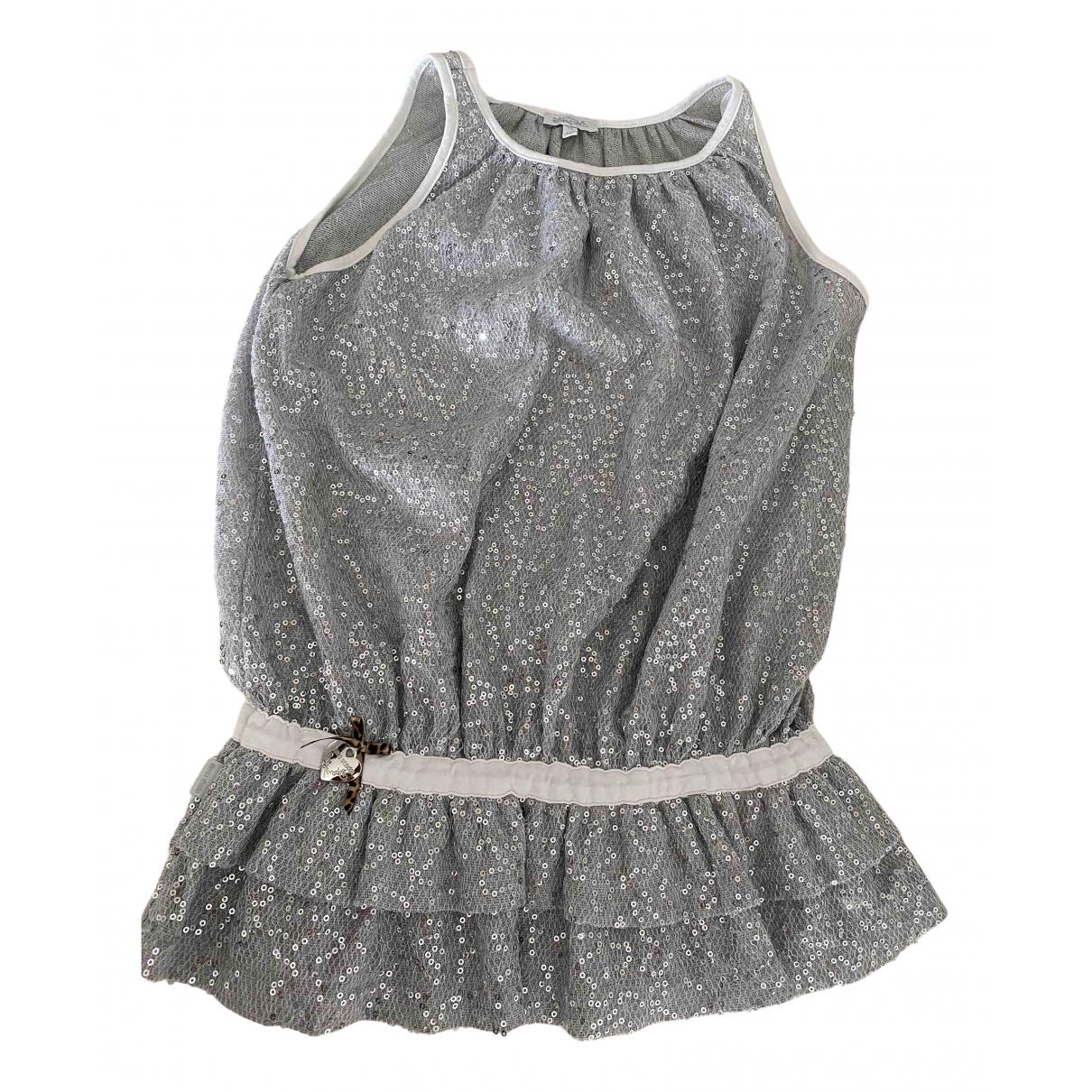 Roberto Cavalli N Silver Glitter dress for Kids 12 years - XS UK