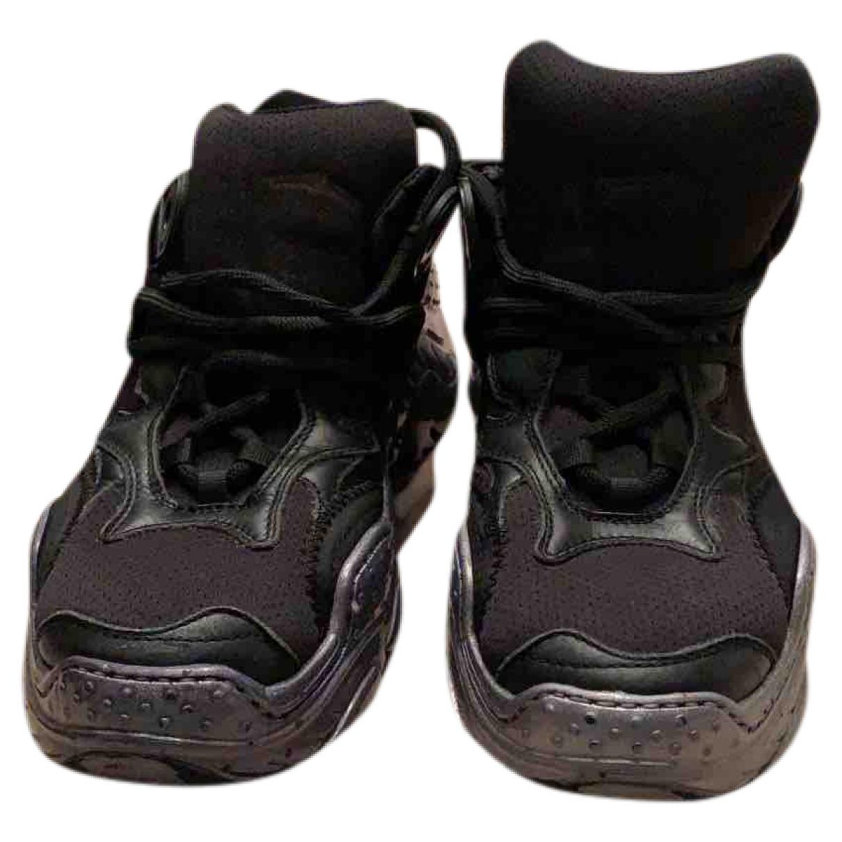 N°21 - Baskets   pour femme en toile - noir