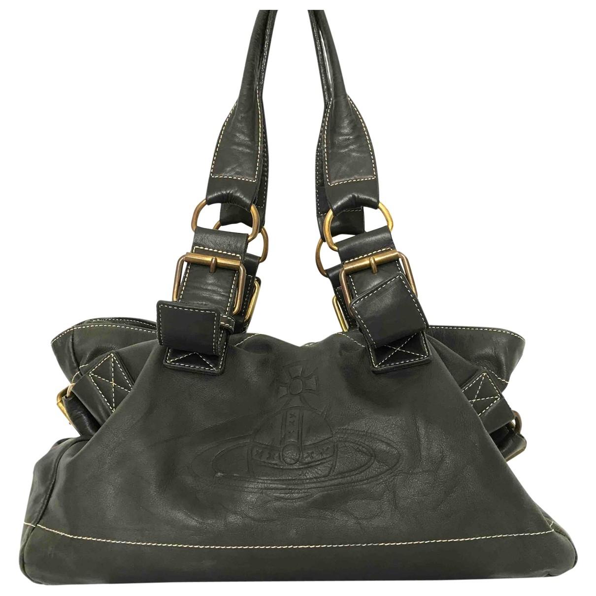 Vivienne Westwood \N Black Leather handbag for Women \N