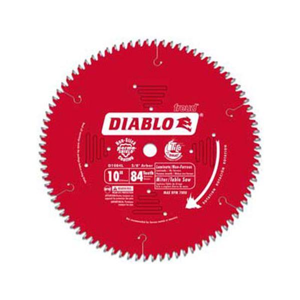 D1084L Diablo Laminate/Flooring Blade - Sliding Miter, 10