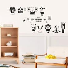 Pegatina de pared con estampado de dibujos animados