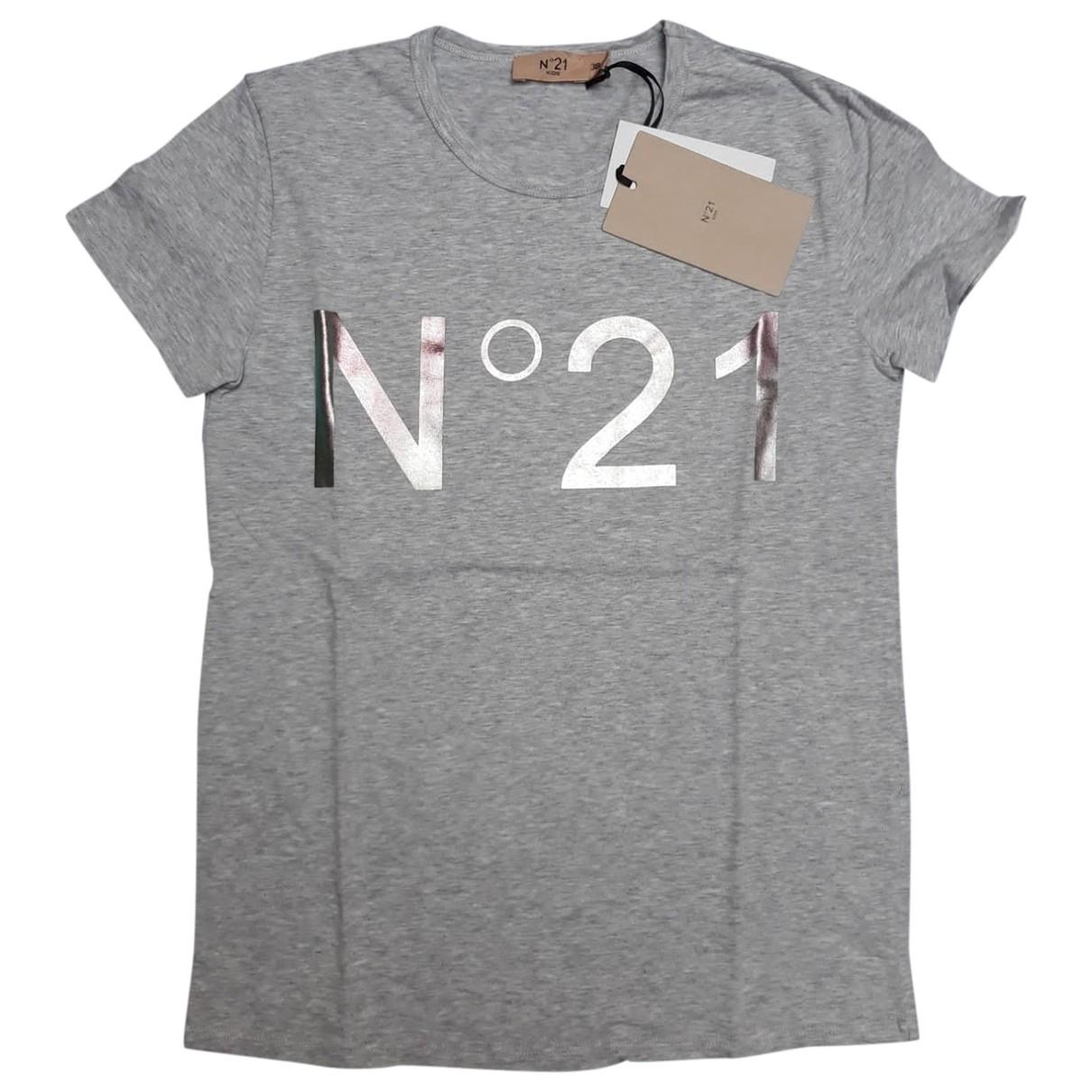 N°21 - Top   pour enfant en coton - gris