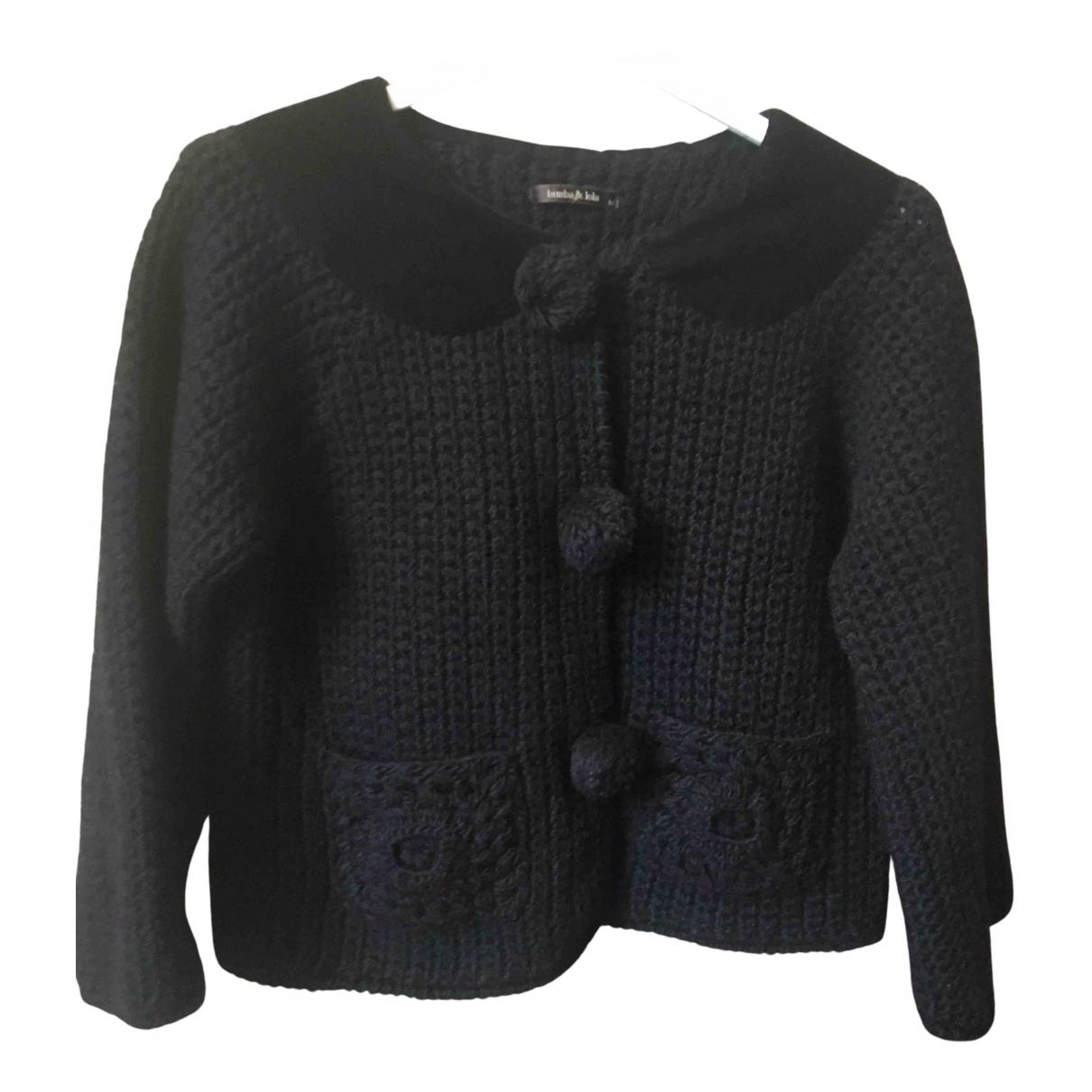Bimba Y Lola N Black Wool jacket for Women M International